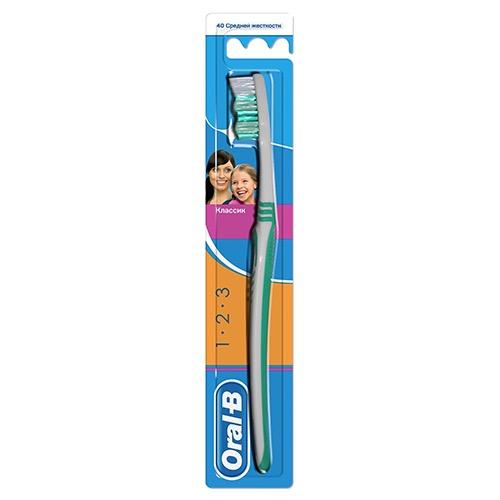 ORAL-B οδοντόβουρτσα 1.2.3 medium