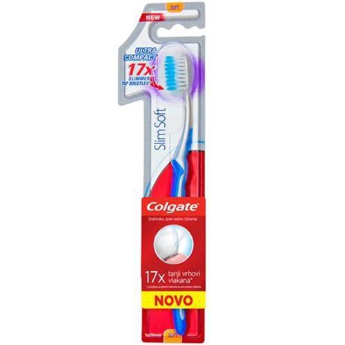 COLGATE οδοντόβουρτσα slim soft