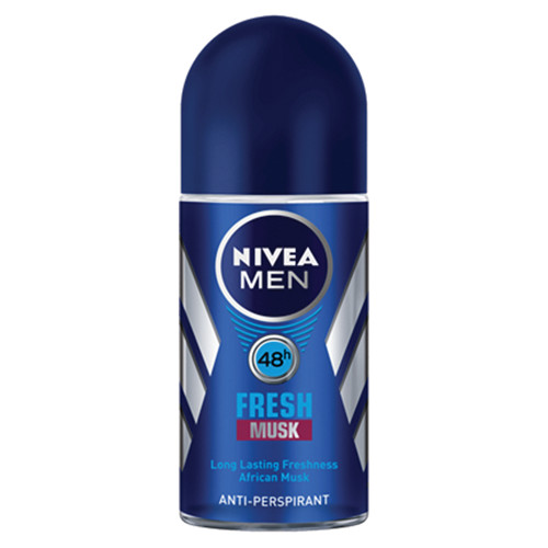 NIVEA roll on 50ml women fresh musk 48h