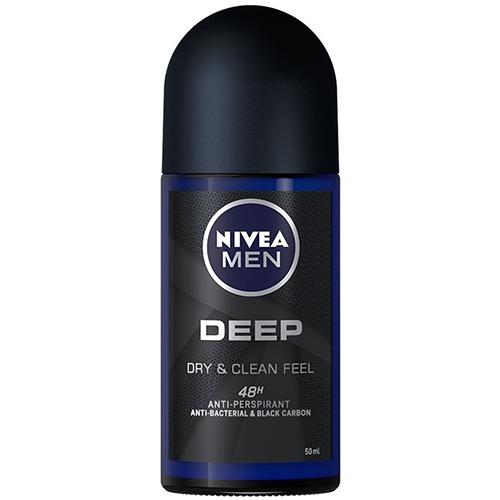 NIVEA roll on 50ml men deep 48h