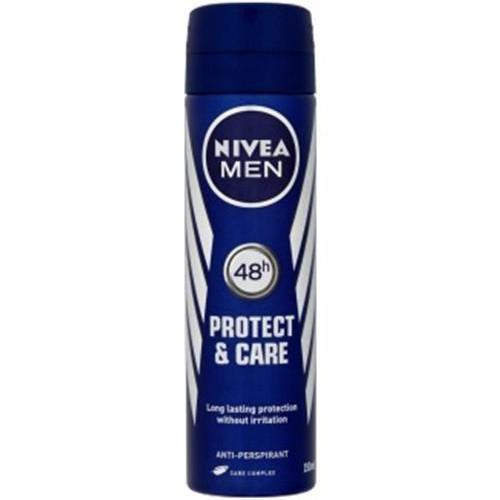 NIVEA spray 150ml men protect & care 48h(ΕΛ)