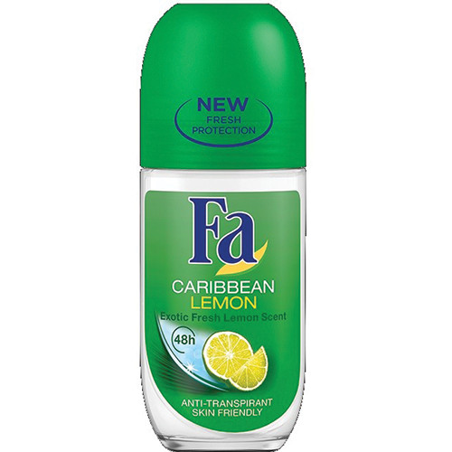 FA roll on 50ml caribbeian lemon