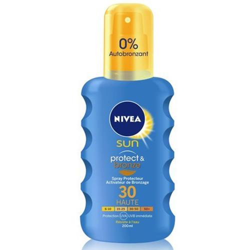 NIVEA αντηλ κρέμα spray SPF30 200ml prot n bronze