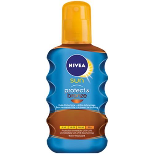 NIVEA αντηλ λάδι spray SPF30 200ml prot n bronze
