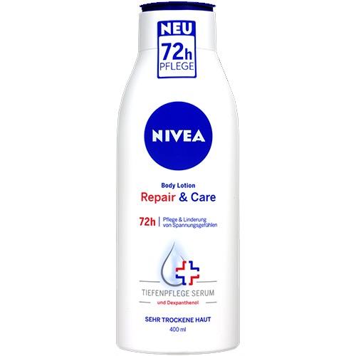 NIVEA body milk 400ml repair n' care