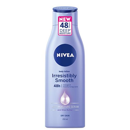 NIVEA body milk 250ml (ΕΛ) 48h smooth dry skin