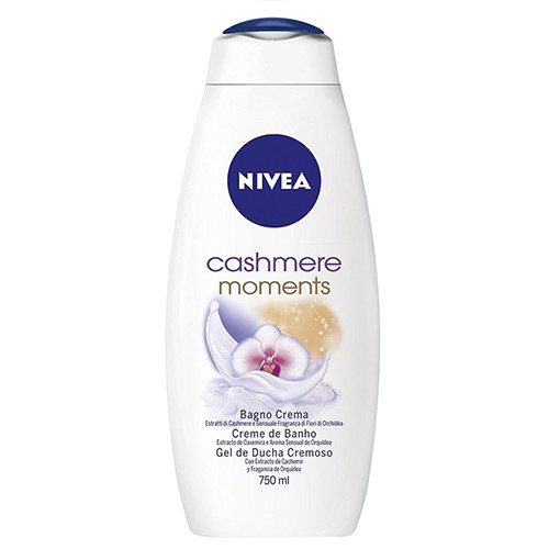 NIVEA bath 750ml (ΕΛ) cashmere