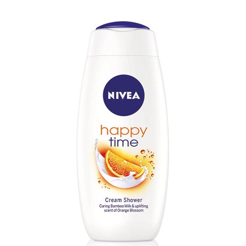 NIVEA αφρόλ. 400ml happy time