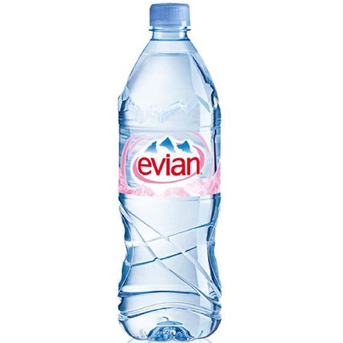 EVIAN εμφιαλωμένο νερό 1lt