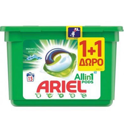 ARIEL 15+15 tabs (PODS) KOYTI (ΕΛ) mountain spring