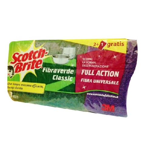 SCOTCH-BRITE σφουγγάρι με σύρμα 3τεμ