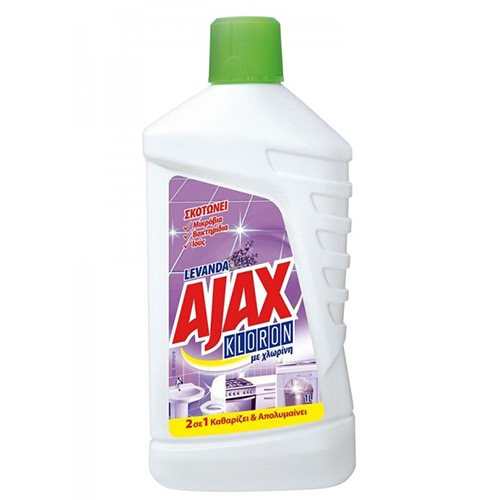 AJAX πάτωμα KLORON 1lt (ΕΛ) LILA
