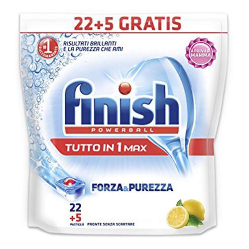 FINISH all in 1 22+5 tabs lemon