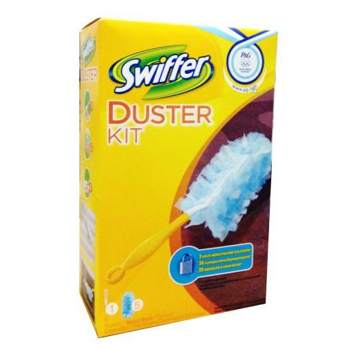SWIFFER DUSTER λαβή+5 ανταλ.(EΛ)