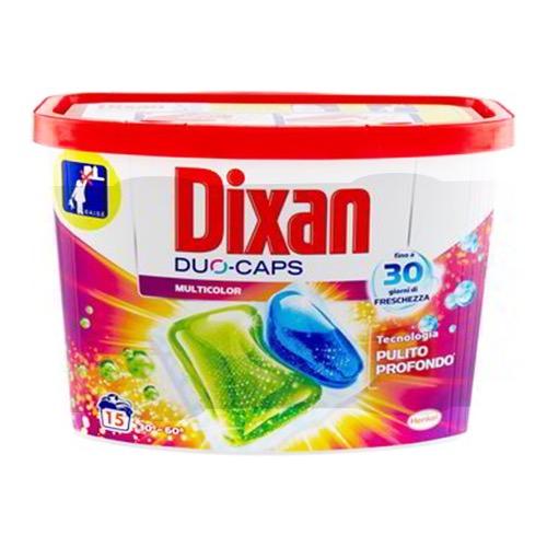 DIXAN caps duo απορ/κό 15τεμ color