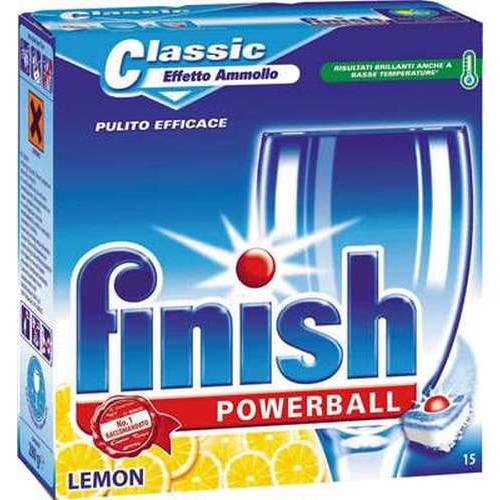 FINISH classic 15 ταμπλέτες lemon