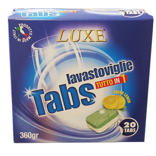 LUXE 20tabs all in 1 (ΕΛ) lemon