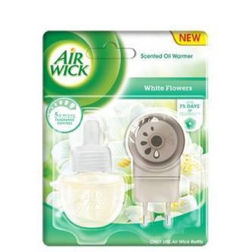 AIRWICK συσκευή+ανταλ. 19ml white flowers
