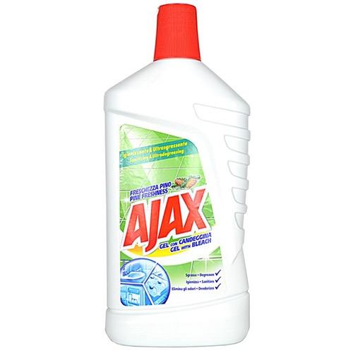 AJAX 1lt πατ. gel απολυμαντικό με χλωρίνη