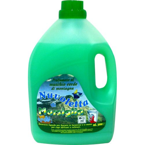 NUVOLETTA απορ/κό σαπ μασ. muschio πράσινο3lt(ΕΛ)