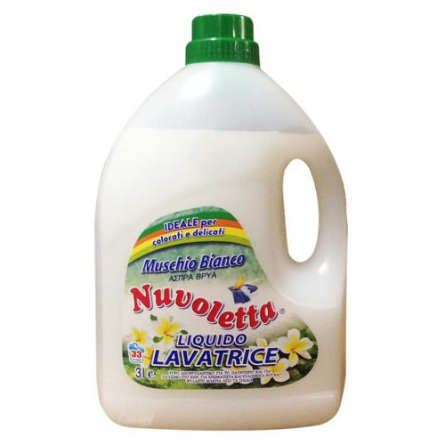 NUVOLETTA απορ/κό σαπ μασ. muschio άσπρο 3lt(ΕΛ)