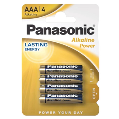 PANASONIC ALKALINE AAA ΑΛΚ ΜΠΑΤ 4τεμ (ΕΛ)