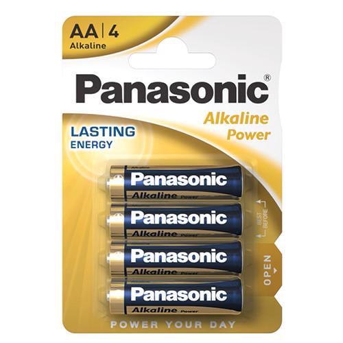 PANASONIC ALKALINE AA ΑΛΚ ΜΠΑΤ 4τεμ (ΕΛ)