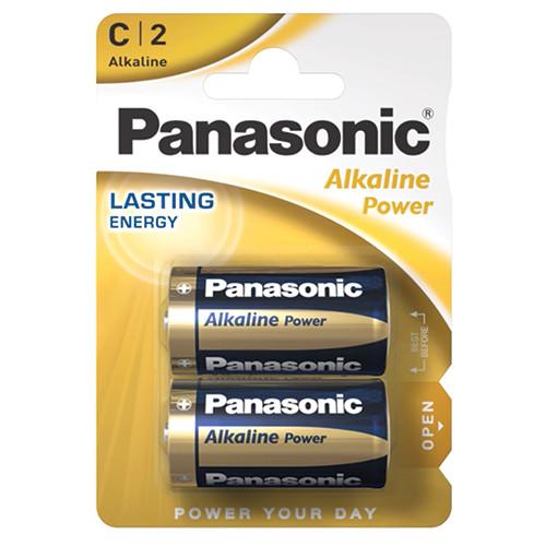 PANASONIC ALKALINE C ΑΛΚ ΜΠΑΤ (ΕΛ)