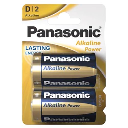 PANASONIC ALKALINE D ΑΛΚ ΜΠΑΤ 2τεμ (ΕΛ)