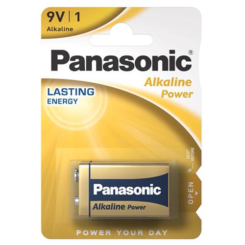 PANASONIC ALKALINE 9V ΑΛΚ ΜΠΑΤ (ΕΛ)