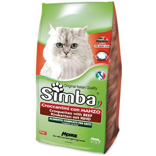 ΚΡΟΚΕΤΕΣ ΓΑΤΑΣ 2kg SIMBA (ΕΛ) μοσχάρι