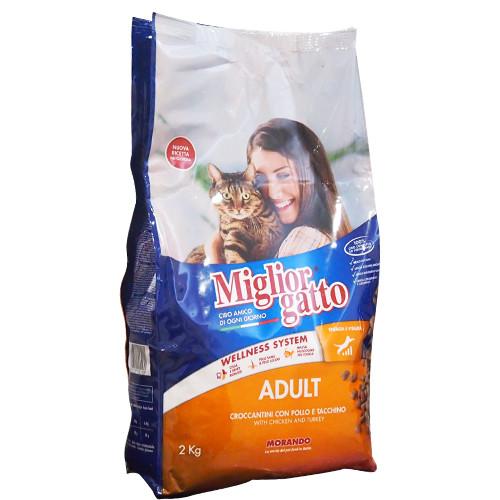 MIGLIOR ΚΡΟΚΕΤΕΣ ΓΑΤΑΣ 2kg (ΕΛ)κοτόπουλο-γαλοπούλα