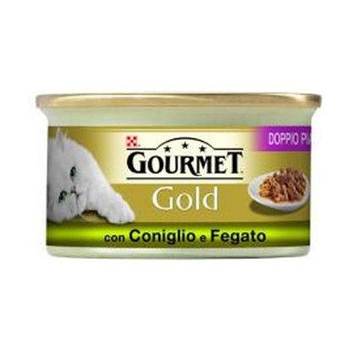 GOURMET GOLD 85gr κουνέλι-συκώτι