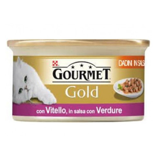 GOURMET GOLD 85gr μοσχάρι-λαχανικά