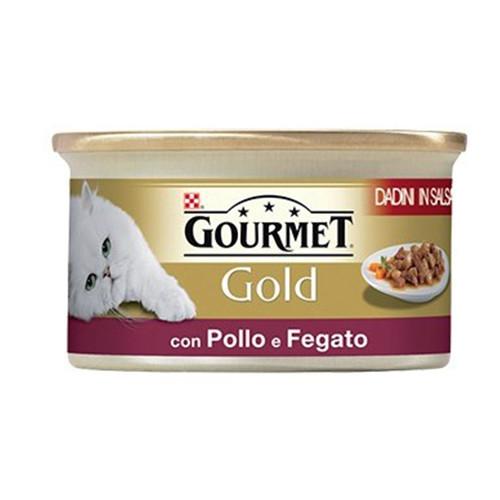 GOURMET GOLD 85gr κοτόπουλο-συκώτι