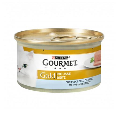 GOURMET GOLD mousse 85gr ψάρι