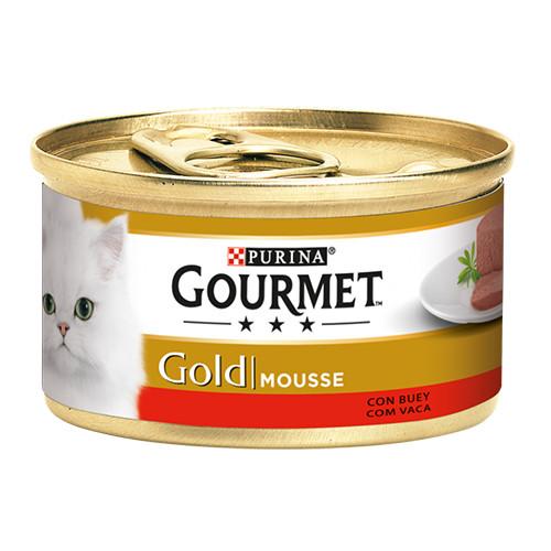 GOURMET GOLD mousse 85gr βοδινό
