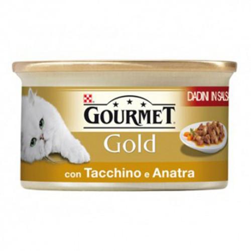 GOURMET GOLD 85gr γαλοπούλα-πάπια
