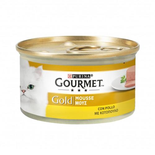 GOURMET GOLD mousse 85gr κοτόπουλο