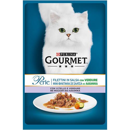 GOURMET PERLE 85gr (ΕΛ) μοσχάρι-λαχανικά