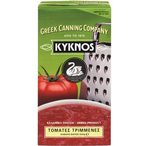 ΚΥΚΝΟΣ τριμμένη ντομάτα 500gr (ΕΛ)