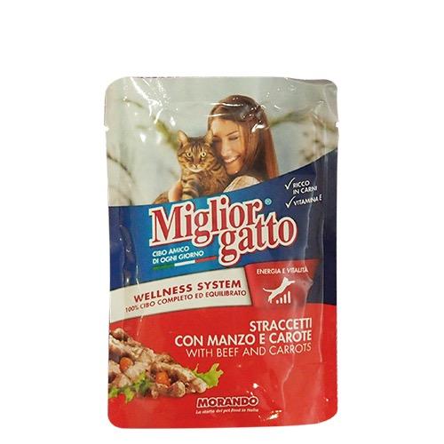 MIGLIOR ΓΑΤΟΤΡΟΦΗ 100γρ μοσχάρι-καρότο