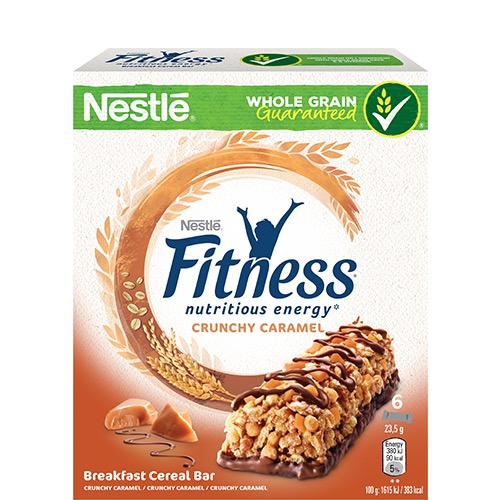 FITNESS μπάρες δημητριακών 6τεμ crunch caram (ΕΛ)