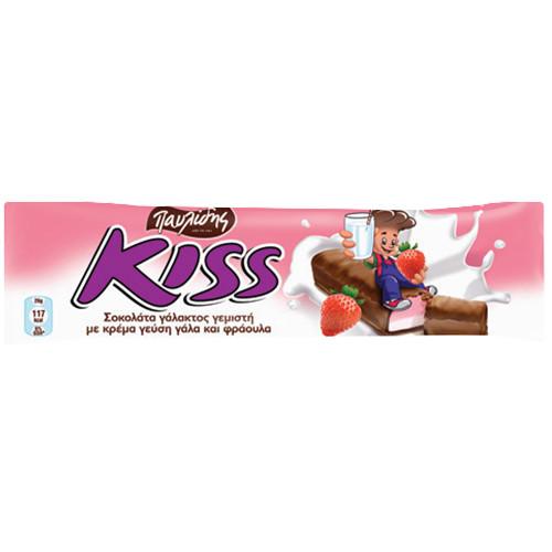 KISS φράουλα 27,5γρ (ΕΛ)