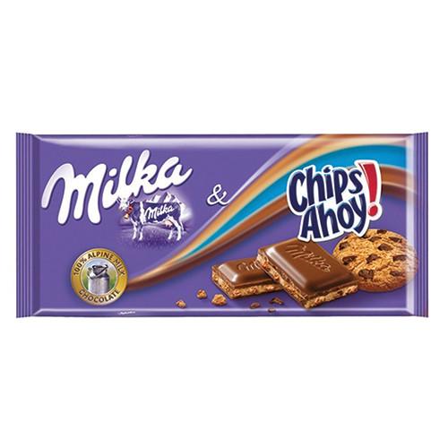 MILKA ΣΟΚΟΛΑΤΑ 100gr chips ahoy