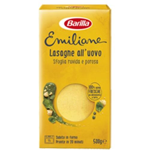 BARILLA ΛΑΖΑΝΙΑ 500gr (αυγά)