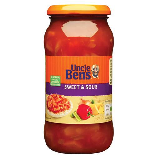 UNCLE BENS σάλτσα γλυκόξινη 450gr (ΕΛ)