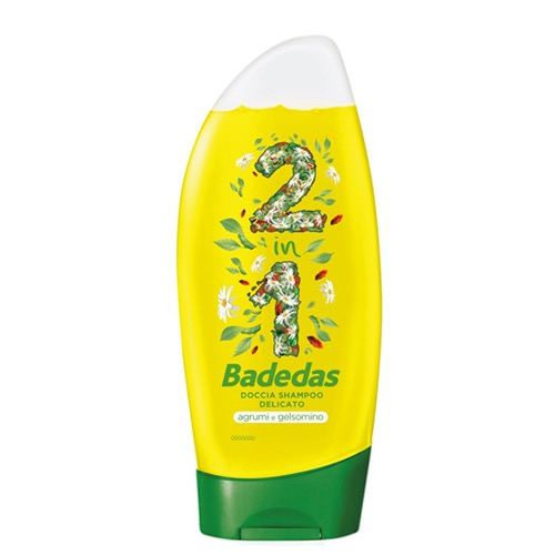 BADEDAS bath & shampoo 250ml agrumi n' gelsomino
