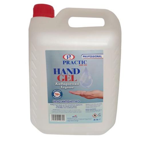 HAND GEL PRACTIC 4lt (ΕΛ)