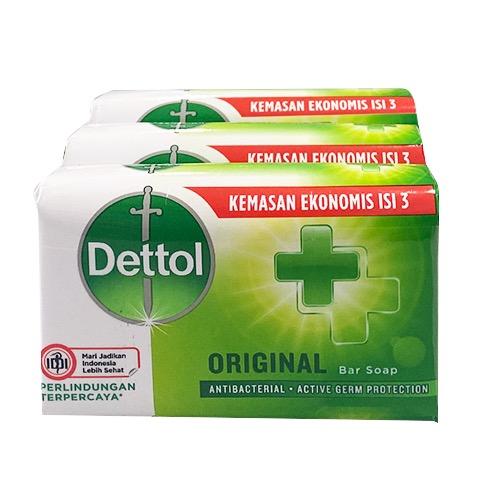 DETTOL σαπούνι 3X65gr original